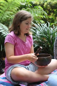 Clear Minded For Life - Child with singing bowl